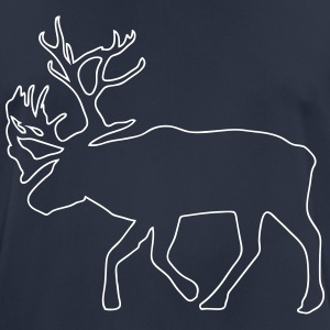 caribou - reindeer -  christmas - xmas T-Shirts - Men's Breathable T-Shirt