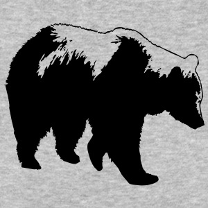 bear - brown bear - hunting - hunter T-Shirts - Men's Organic T-shirt