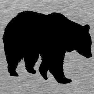 Bear - ours brun - la chasse - chasseur Tee shirts - T-shirt Premium Homme
