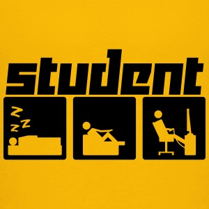 Student 3 (Vektor) - Teenage Premium T-Shirt