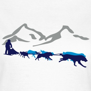 Husky - dog sled - Yukon Quest - Alaska  T-Shirts - Women's T-Shirt