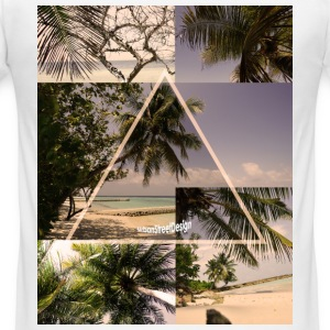 Beach T-Shirts - Männer Slim Fit T-Shirt