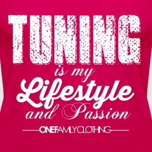 TUNING is my Lifestyle and Passion Tops - Frauen Premium Tank Top