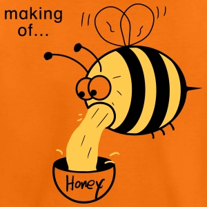 Making of Honey :-) Bee Shirts - Kids' Premium T-Shirt