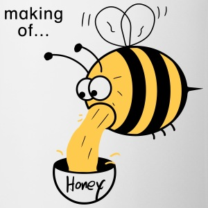 Making of Honey :-) Bee Tazas y accesorios - Taza