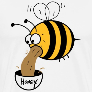 making of honey - bee :-) Camisetas - Camiseta premium hombre