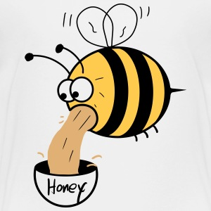 making of honey - bee :-) Shirts - Teenage Premium T-Shirt