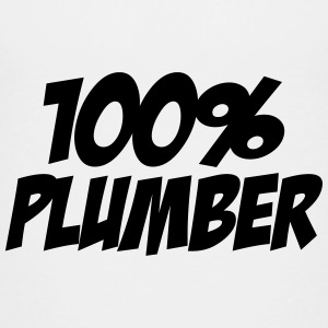 100% Plumber T-shirts - Teenager premium T-shirt