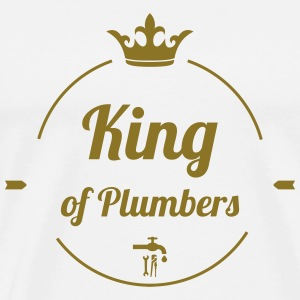 King of Plumbers T-shirts - Mannen Premium T-shirt