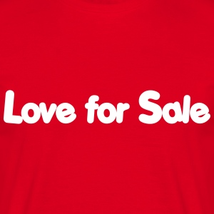 Love for sale jazz Tee shirts - T-shirt Homme