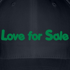 Love for sale jazz Casquettes et bonnets - Casquette Flexfit