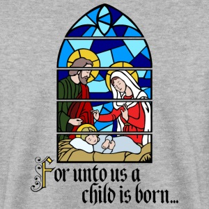 A Child is born Sweaters - Mannen sweater