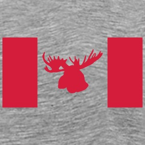 moose - elk - hunting - hunter - canada T-Shirts - Men's Premium T-Shirt