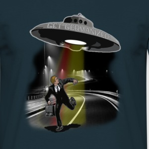 Germanizing UFO Abduction T-Shirts - Männer T-Shirt