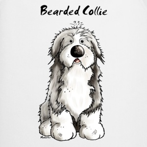 Mignon Bearded Collie -  Colley Barbu Tabliers - Tablier de cuisine