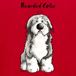 Mignon Bearded Collie -  Colley Barbu Tee shirts - T-shirt Bio Enfant