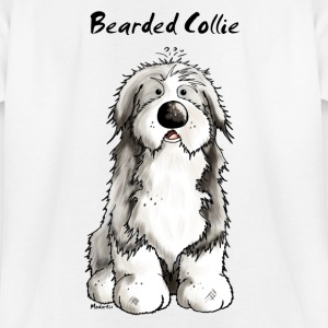 Süßer Bearded Collie - Hund T-Shirts - Teenager T-Shirt