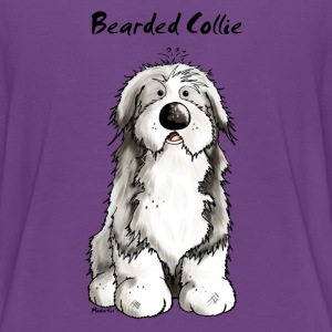 Cute Bearded Collie Dog Shirts - Teenage Premium T-Shirt
