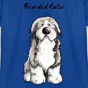 Mignon Bearded Collie -  Colley Barbu Tee shirts - T-shirt Enfant