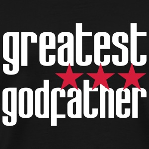 Greatest Godfather T-Shirts - Männer Premium T-Shirt