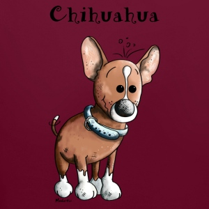 Funny Chihuahua Dog Hoodies & Sweatshirts - Contrast Colour Hoodie