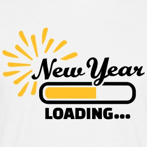 New Year Loading T-Shirts - Männer T-Shirt