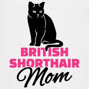 British Shorthair Mom T-Shirts - Kinder Premium T-Shirt