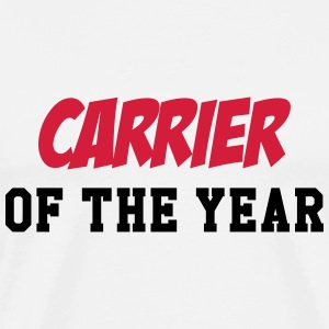 Carrier of the year T-shirts - Mannen Premium T-shirt