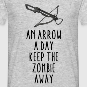 An arrow a day - Herre-T-shirt
