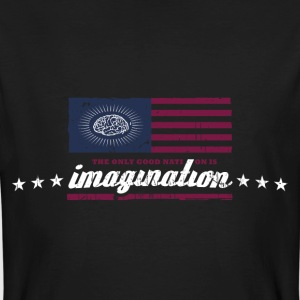 The only good nation is imagination T-Shirts - Männer Bio-T-Shirt