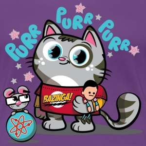 Dame T-shirt Softy Kitty - Dame premium T-shirt