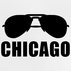 Coole Chicago Sonnenbrille T-Shirts - Baby T-Shirt