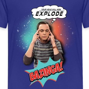 Teenager T-shirt Sheldon Explode - Teenager premium T-shirt