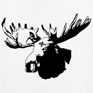 moose - elk - hunting - hunter T-Shirts - Men's Breathable T-Shirt