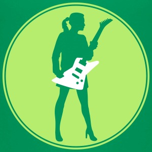 female_eguitar_player_112014_a_2c T-Shirts - Kinder Premium T-Shirt