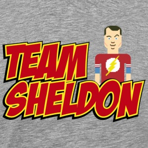 Tee shirt Homme Team Sheldon Comic - T-shirt Premium Homme