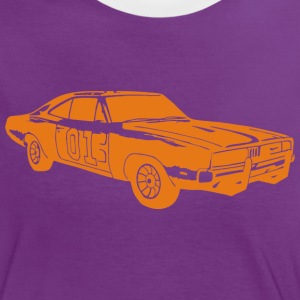 General Lee Dodge Charger - Frauen Kontrast-T-Shirt