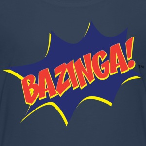 Teenager T-Shirt Bazinga Comic - Teenager Premium T-Shirt