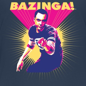 Teenager T-shirt Sheldon Bazinga - Teenager premium T-shirt