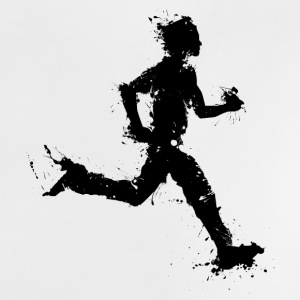 runner male T-shirts - Baby T-shirt