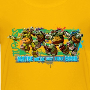 Teenage Premium Shirt TURTLES 'Maybe' - Teenage Premium T-Shirt