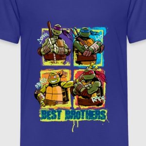 Teenage Premium Shirt TURTLES 'Best Brothers' - Teenager Premium T-shirt