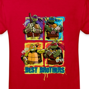 Kids Organic Shirt TURTLES 'Best Brothers' - Kinder Bio-T-Shirt