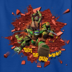 Teenage Shirt TURTLES 'Out of our way!' - T-shirt tonåring