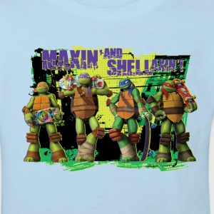 Kids Organic Shirt TURTLES 'Shellaxin'!' - Kinder Bio-T-Shirt