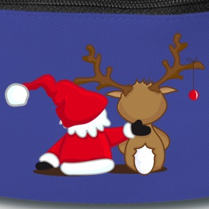 Reindeer, together, friends, Santa Claus, Merry Ch Sacs et sacs à dos - Sac banane