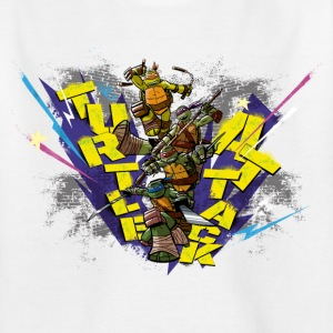 Ado Tee Shirt TURTLES 'Attack!' - T-shirt Ado