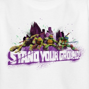 Teenager Shirt TURTLES 'Stand your ground!' - Teenage T-shirt