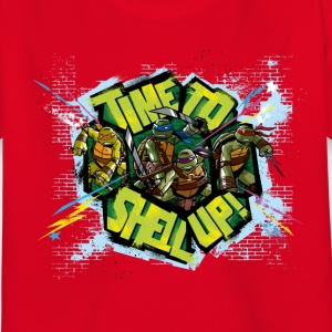 Enfant Tee Shirt TURTLES 'Shell up!' - T-shirt Enfant