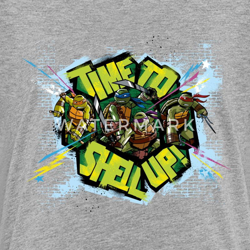 Teenage Premium Shirt TURTLES 'Shell up!' - Teenage Premium T-Shirt